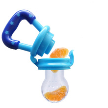 1 Piece Baby Teether Nipple Fruit Food Mills Free Safety Newborn Teethers Shape Baby Like Teether Oral Care Yellow Blue Pink