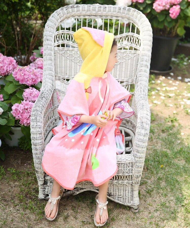 Качественное голубое детское полотенце принцессы с капюшоном и принтом «Звезда океана», банный халат принцессы розового цвета с лягушкой для младенцев и малышей