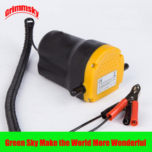 hot selling vehicle mounted kits clip type electric self-priming 12V/24V diesel transfer pump 12v
