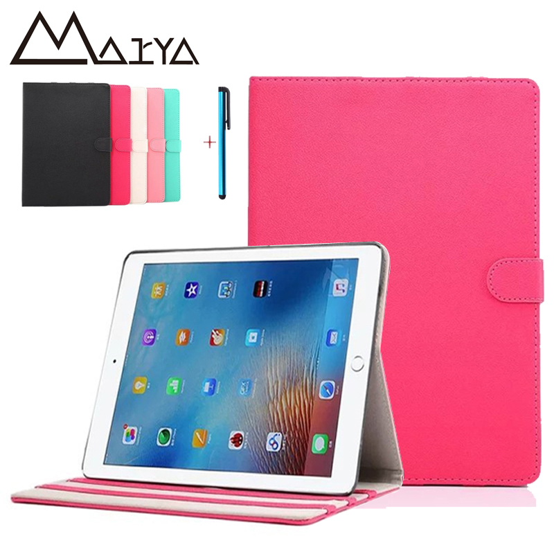 все цены на  Case for iPad Pro 9.7case with touch pen Smart Cover with Trifold Stand Magnetic Auto Wake Tablet Case for iPad Pro 9.7 inch  онлайн