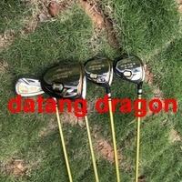 Datang дракона полный комплект Хонма Гольф клубы 3 звезды Гольф Драйвер + Фарватер Вудс + утюги/Паттер; Гольф Сумка