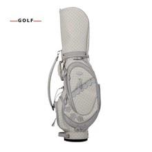 CRESTGOLF New NSR Women golf bag club sets with half leather and nylon golf bag set sport golf club practice training sets