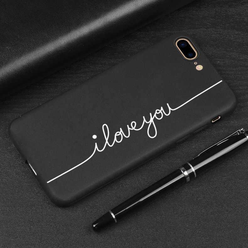 Te Amo impressão Casos de Telefone Para Huawei P20 Lite P20Pro P30 Caso Para Huawei Honra 10 Honor10 Fosco Suave Capa muito Bom Presente