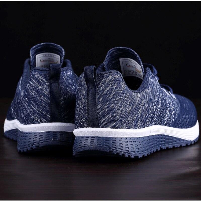 Крокодил для мужчин кроссовки Мужская Спортивная обувь амортизацию спортивная обувь для пробежек для ткань теннисные Hombre кроссовки