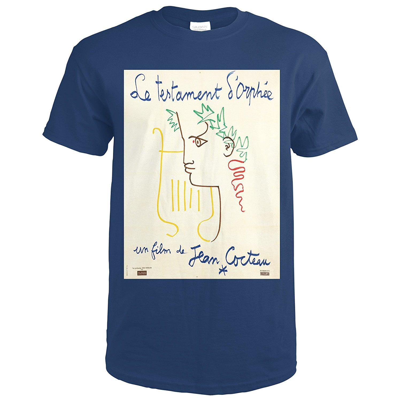 Gildan Le Testament dOrphee Vintage Poster (artist: Cocteau, Jean) France c. 1959 (Premium T-Shirt)