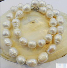 Eternal wedding Women Gift word 925 Sterling silver real natural big DYY+++816 BIG RICE SHAPE WHITE REAL NATURAL
