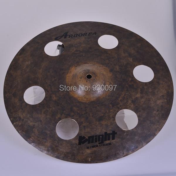 New style Arborea cymbal, Raw 16O-ZONE  cymbal handmade b20 cymbal dragon 16 o zone cymbal