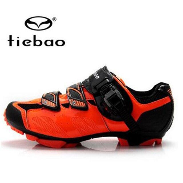 Tiebao tênis de ciclismo mtb, sapatilhas para uso ao ar livre, para bicicleta de montanha, vtt, feminino e masculino 3