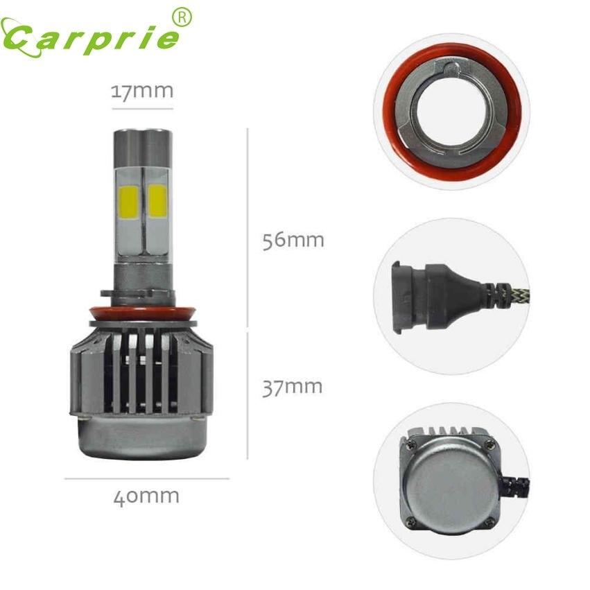 New Arrival Car-styling creechipschips LED H8 H9 H11 Headlight Kit Low Beam Bulbs 6000K White Bulbs nr3
