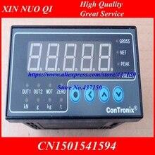 Indicador de célula de carga instrumento de pesagem display digital sensor de peso da pilha de carga s saída de 2 vias 96x48x112; 160x80