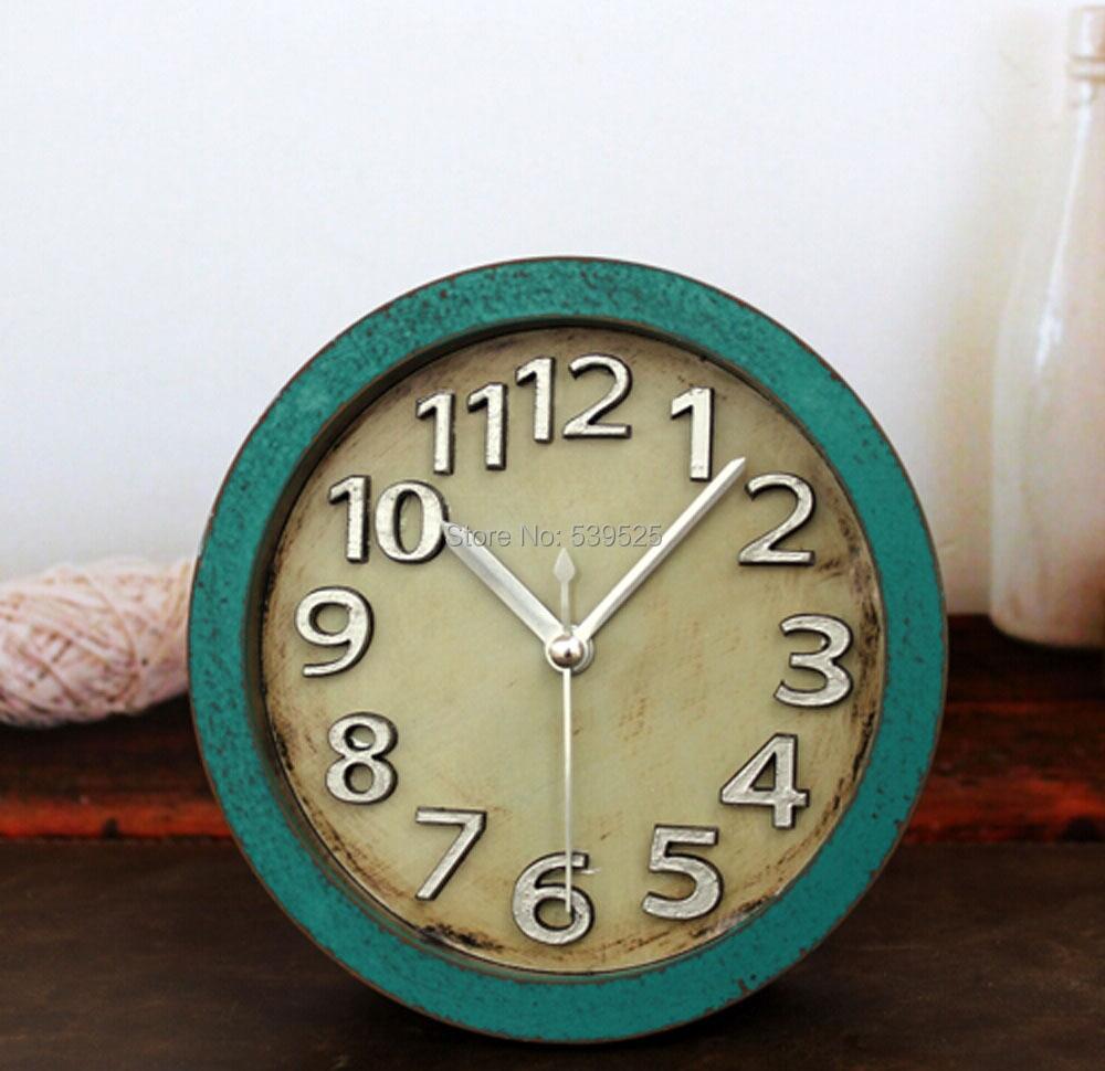 High Quality Retro 3D Wood Clock Vintage Alarm Clocks Table Clock Desk  Clocks In Alarm Clocks From Home U0026 Garden On Aliexpress.com | Alibaba Group