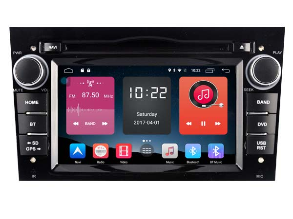Android 6.0 CAR DVD FOR OPEL VECTRA/ MERIVA/ CORSA (Black) car audio gps player stereo head unit Multimedia build in 4G <font><b>module</b></font>