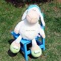 55 см завод прямых продаж оптовая продажа NICI сонный овец день защиты детей подарок прекрасный ягненка подарок на день рождения 1 шт.