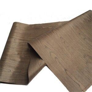 Image 3 - 技術4FCクルミ木材エンジニアリングベニヤe.v。62 × 250センチメートルティッシュバッキング0.2ミリメートルの厚さのc/c