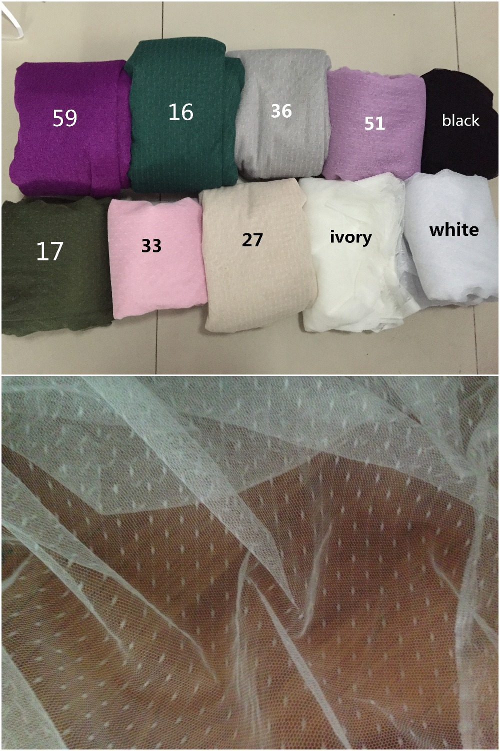 Factory! pink, ivory, white, black, army green, lavender, purple, grey, 165cm wide 10meters/lot spot dot mesh fabric, grid cloth-in Fabric from Home & Garden on AliExpress - 11.11_Double 11_Singles' Day 1