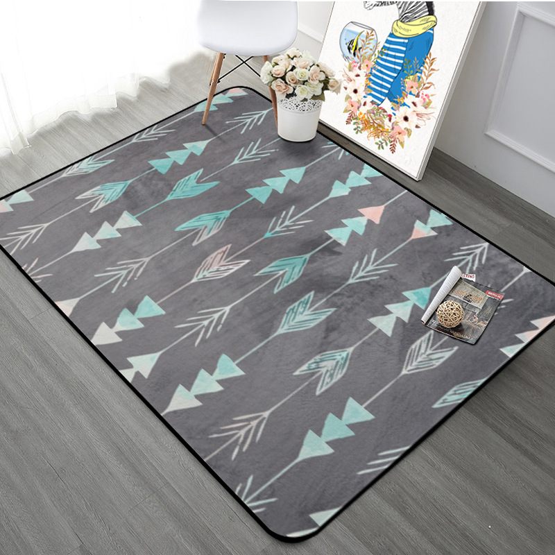 Extra Large Size 190*240CM and 190*280CM European-style Rug and Carpet for Home Living Room Arrows Super Soft Area Rug Floor MatExtra Large Size 190*240CM and 190*280CM European-style Rug and Carpet for Home Living Room Arrows Super Soft Area Rug Floor Mat