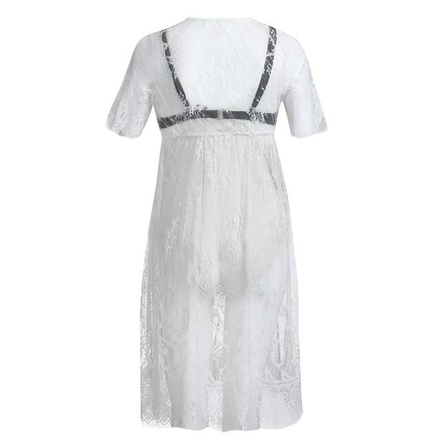 Short Sleeve MUQGEW Maternity Dresses 4