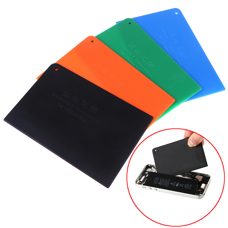 5Pcs Professional Mobile Phone Repair Tools Opening Pry Battery DIY Disassemble Tough Card new