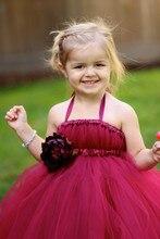 2016 детская одежда девушки марли платье воссоединения фортепиано производительность одежда день рождения маленькая платье невесты длинный отрезок