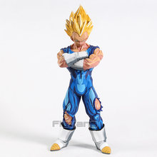 Grandista ROS De Dragon Ball Z Super Saiyan Vegeta Majin/Dimensões Manga Son Goku PVC Figura Collectible Toy Modelo(China)