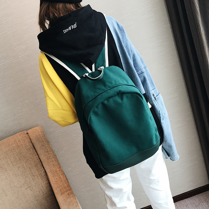 dower me ZB1-4 Brand Canvas Men Women Backpack waterproof nylon Campus canvas backpack