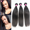 WWW.FORAWMEHAIR.COM Forawme 7A hair Brazilian Virgin Hair Soft Brazillian Human Hair Mink Straight Hair Black Hair