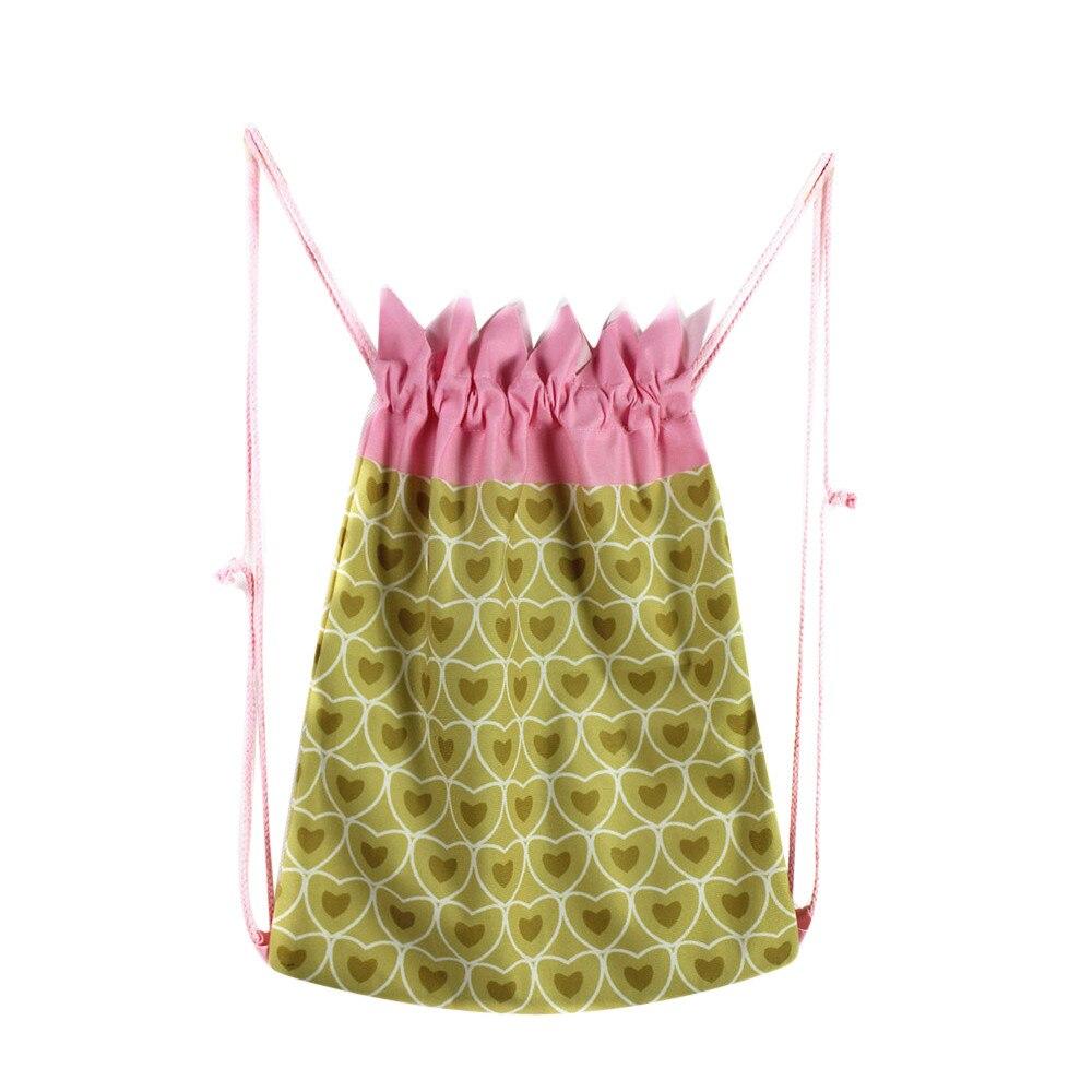 Pineapple Fruit Drawstring Bag Cotton Fabric Kids Shoulder Bag Satchel Rucksack Unisex Travel Storage Package 3D Printing