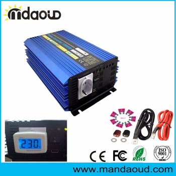 цена на 1500W/3000W PEAKING 12V/24V/48VDC to 110V/120V/220V/230VAC Pure Sine Wave Inverter CONVERTER