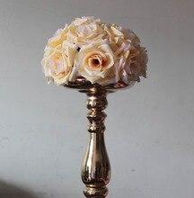 Free shipping 25CM*12pcs Pomander rose ball wedding kissing flower ball party/home decoration flowe