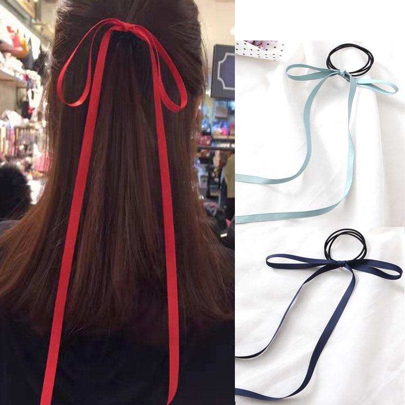 8 colors women girls hair bow