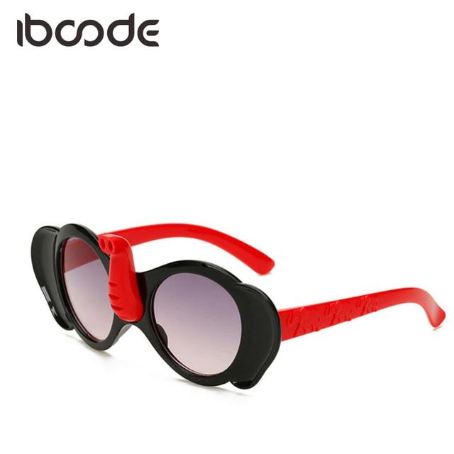 8060f774f966f iboode Elephant Shape Funny Sunglasses Children Sun Glasses Boys Girls  Elephant Nose Cute Shades Cartoon Eyeglasses Anti-UV