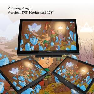 Image 4 - HUION KAMVAS GT 191 القلم شاشة عرض 8192 مستويات IPS شاشات كريستال بلورية الرسم البياني الرقمي رصد مع الهدايا