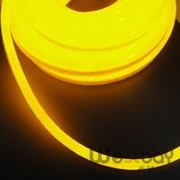 Mini DC12V sıcak beyaz 2700 K led neon flex için DIY ev aydınlatma çözümü, 8 takım ile 16 M/grup neon aksesuarları