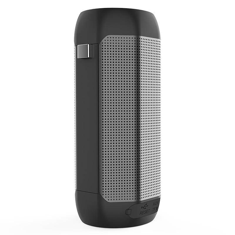Yescool PMC-10 Portable extérieur Bluetooth basse boîte vocale sans fil haut-parleur intégré micro support AUX dans FM radio TF jeu de cartes