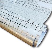 5 mt aluminiumfolie selbstklebende tapeten mosaik tapete badezimmer kche backsplash wasserdicht fliesen wandaufkleber steuern dekor - Fliesen Tapete Kuche