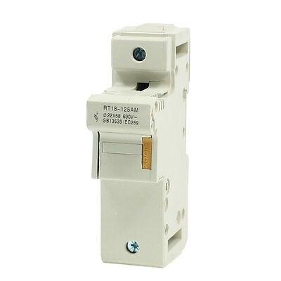 цена на SENKA ELECTRIC Plastic 58mmx22mm One Pole  Fuse Holder AC 690V 125A RT18-125AM