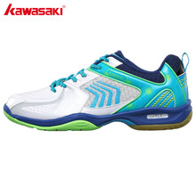 Kawasaki Brand Badminton Shoes for Men Breathable Anti-torsion Wear-resistance Rubber Sports Sneakers Women K-138