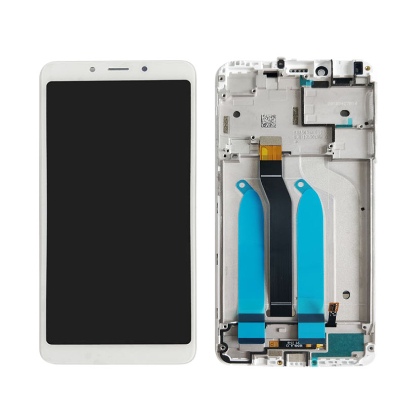 HTB1Gs9UXEjrK1RkHFNRq6ySvpXai 100% Tested LCD display For Xiaomi Redmi 6A 5.45 inch touch screen digitizer assembly For Redmi 6 With Frame Free Shipping