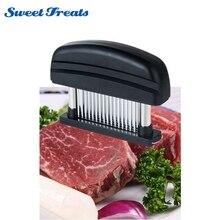 Sweettreats Fleischklopfer-Professionelle Handelsqualität Küche Werkzeug mit 48 Edelstahl Gestochen scharfe Klingen