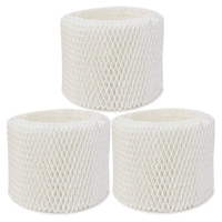 3 Pack Replacement Humidifier Filter For Vicks & Kaz Wf2 Humidifier V3100,V3500,V3500n,V3600,V3700,V3800,V3850,V3850juv,V3900,