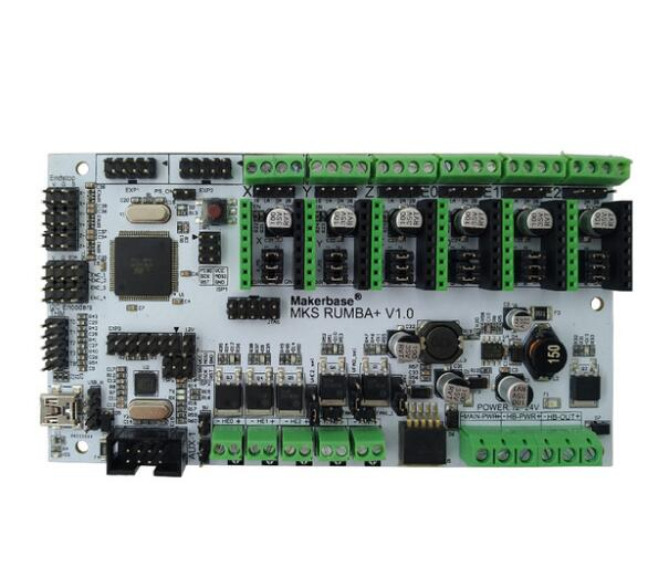 все цены на  MKS Rumba all in one mainboard integrated motherboard smart controller 2560-R3 processor Rumba-board compatible MKS TFT display  онлайн