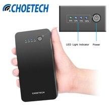 Choetech 20000 мАч высокое Ёмкость QC3.0 Мощность банк 9 В/2A двусторонней быстрой зарядки для Samsung S6 S7 S8 Xiaomi Mi5 LG G4 мобильного телефона