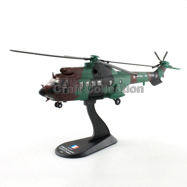 * 1: 72 Eurocopter AS532 Cougar Francia 2000 Diecast Modelo de Helicóptero Del Ejército