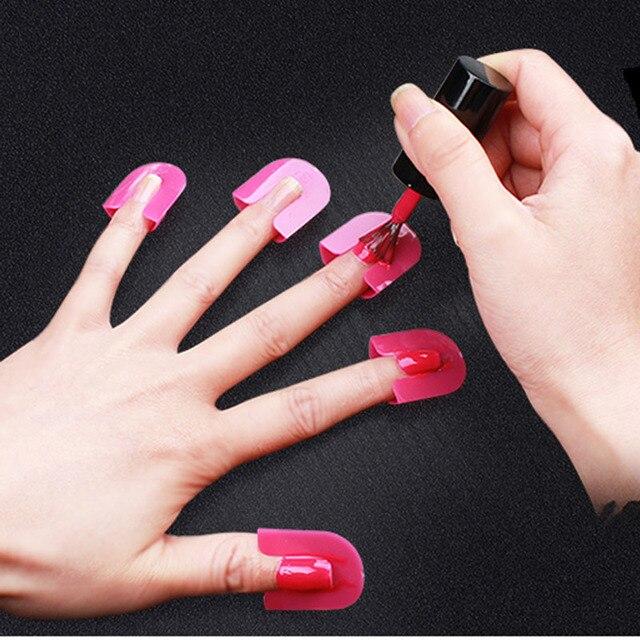 PVADCOL 26Pcs/set 10 Sizes Forms for Nails Curve Shape Spill proof ...