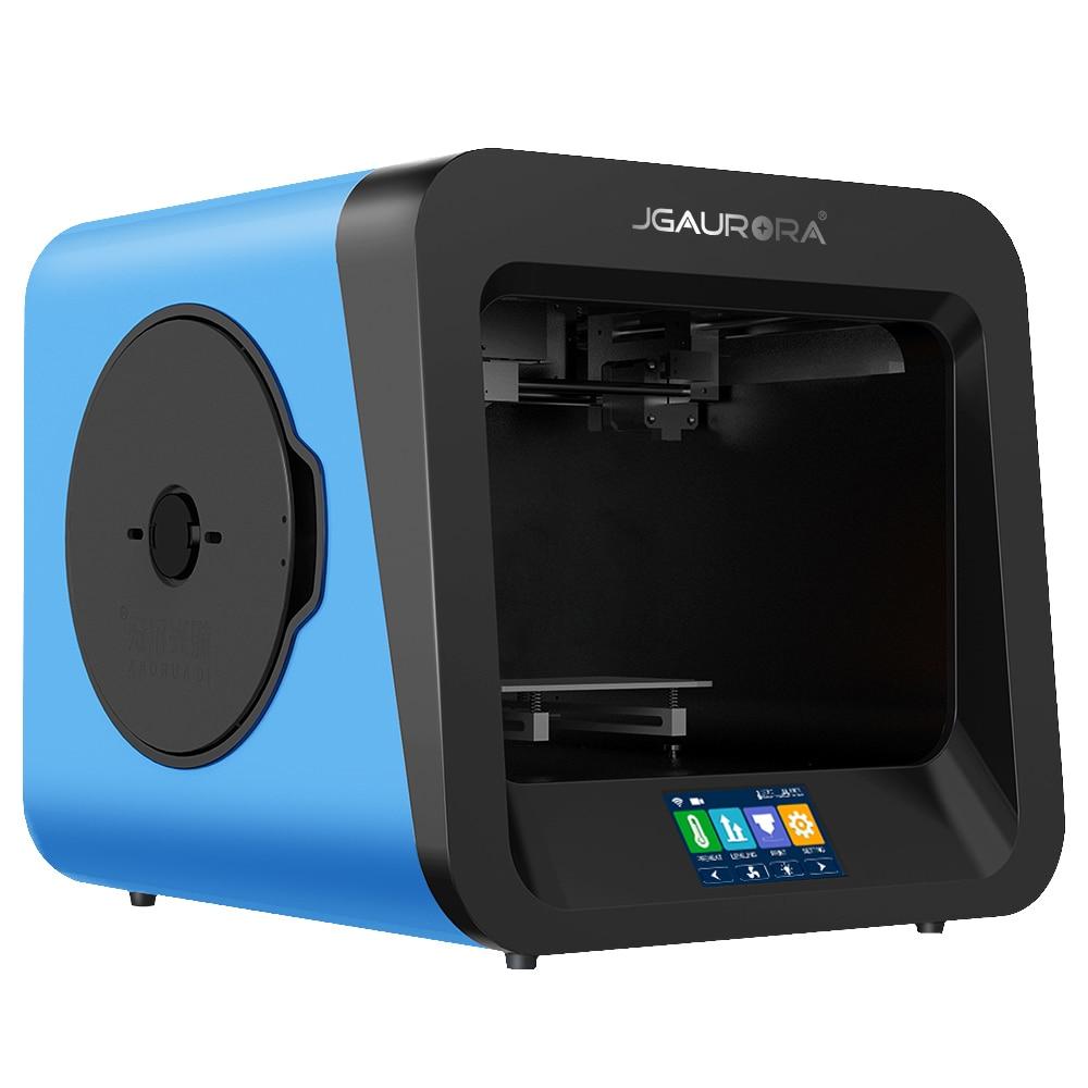 JGAURORA A4 3D Printer High Accuracy Education Desktop 3D printing 4.3 Inch HD Mini Printing Machine Support USB Stick As Gift desktop 3d printing digital 3d printing for sale