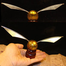 Golden Snitch Toy Action High Quality Quidditch Metal and Plastic Retro Original Version Limited Supply Harri Potter(China)