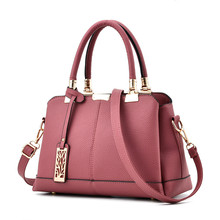 Hohe Qualität Echtes Leder Frauen Handtasche Mode Einfarbig Quaste Schultertasche Handtaschen Bekannte Marken Damen Messenger Bags