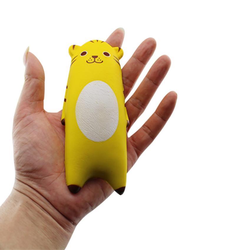 Dropshipping Cute Mochi Squishy Cat Slow Rising Skuishy Healing Fun Kids Kawaii Kids Adult Toy Stress Reliever Decor