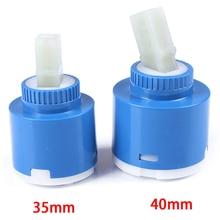Продвижение 35 мм 40 мм керамический картридж клапан Кухня Ванная комната картридж кран смеситель Repalce аксессуары