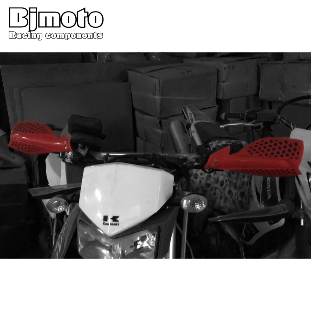 Image 5 - BJMOTO Motocross Hand Guards Handguard Protector Protection For Motorcycle Dirt Bike Pit Bike ATV Quads with 22mm Handbar-in Falling Protection from Automobiles & Motorcycles